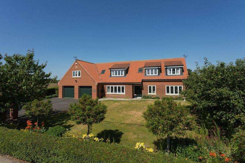 5 Bedrooms Detached House for sale in Browney Hill, Sutton on Derwent