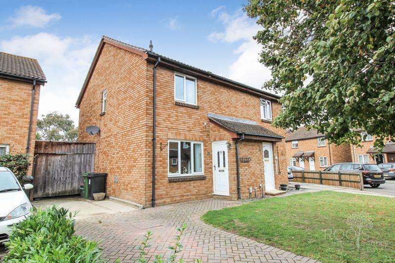 3 Bedrooms Semi Detached House for sale in Cairngorm Road, Thatcham
