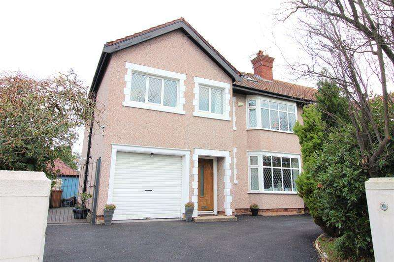 6 Bedrooms Semi Detached House for sale in Bryanston Road, Prenton
