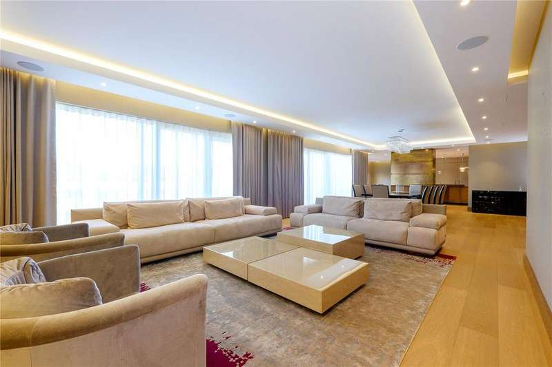 4 Bedrooms Penthouse Flat for sale in Meadows House, Chelsea Creek, Fulham, London, SW6