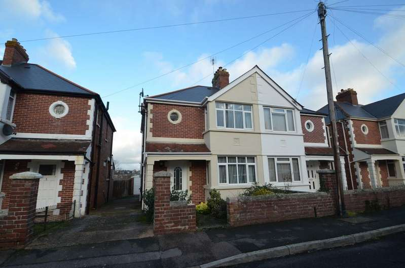 3 Bedrooms Semi Detached House for sale in Cordery Road, St Thomas, Exeter
