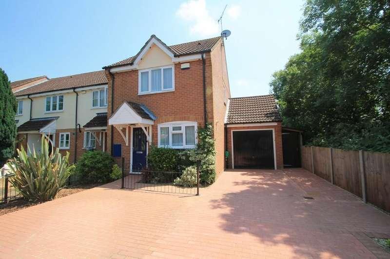 3 Bedrooms End Of Terrace House for sale in Avocet Way, Watermead, Aylesbury