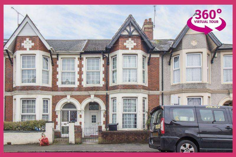 4 Bedrooms Terraced House for sale in Cedar Road, Newport - REF#00005846 - View 360 Tour At http://bit.ly/2s9tG2i
