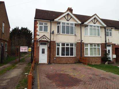 3 Bedrooms End Of Terrace House for sale in Wordsworth Road, Luton, Bedfordshire, England
