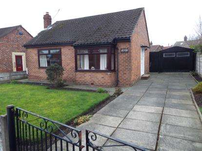 2 Bedrooms Bungalow for sale in Cleveleys Avenue, Widnes, Cheshire, WA8