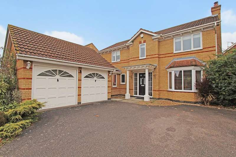 4 Bedrooms Detached House for sale in Bindon Abbey, Bedford, MK41