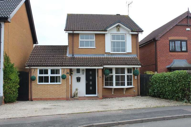 4 Bedrooms Detached House for sale in Wickham Close, Keresley, Coventry