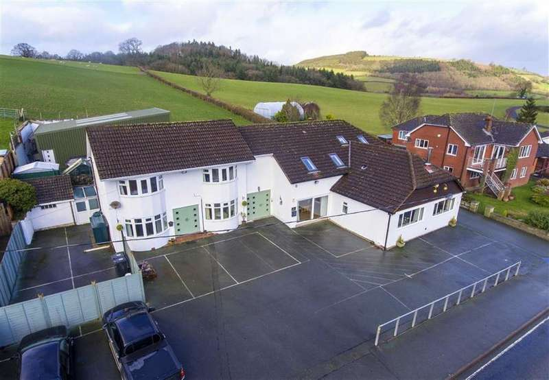 4 Bedrooms Detached House for sale in Sarn, Newtown, Powys, SY16