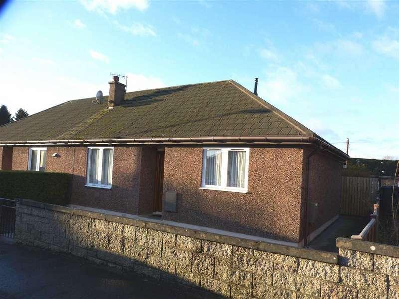 2 Bedrooms Bungalow for sale in Dalgairn Crescent, Cupar, Fife