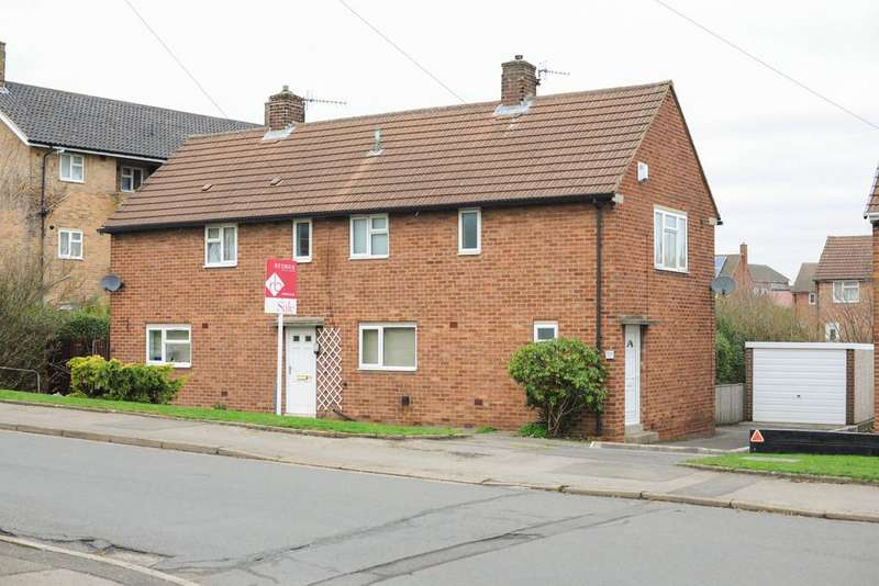 2 Bedrooms Semi Detached House for sale in Salisbury Avenue, Newbold, Chesterfield