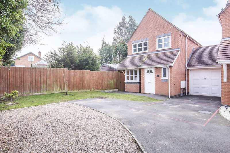 3 Bedrooms Detached House for sale in Hinckley, LE10