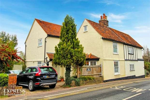 4 Bedrooms Semi Detached House for sale in Harlow Road, Roydon, Harlow, Essex
