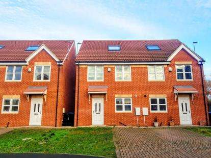 4 Bedrooms Semi Detached House for sale in Saltwater Court, Middlesbrough