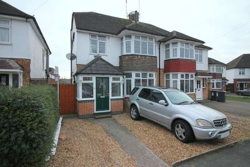 4 Bedrooms Semi Detached House for sale in Woodgreen Close, Luton, Bedfordshire, LU2 8BX