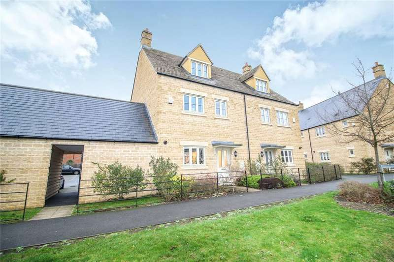 4 Bedrooms Semi Detached House for sale in Matthews Walk, Cirencester, GL7