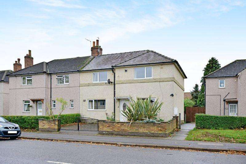 3 Bedrooms Semi Detached House for sale in Ruskin Avenue, Uphill, Lincoln