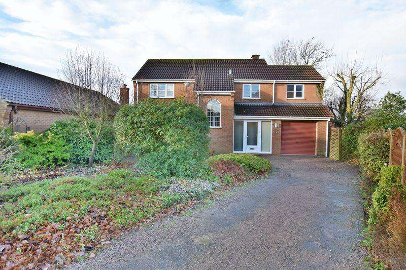 4 Bedrooms Detached House for sale in St. Helens Way, Hemswell, Gainsborough