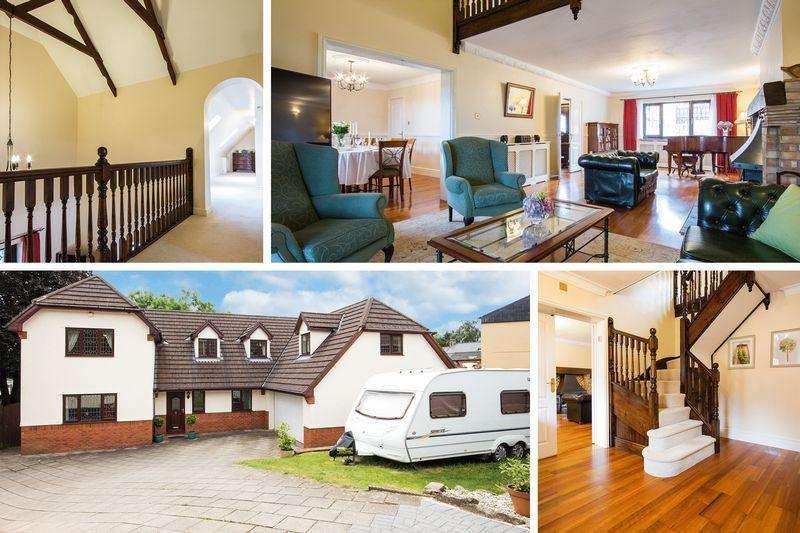 5 Bedrooms Detached House for sale in Wern Road, Griffithstown, Sebastopol, Pontypool - REF #00002879
