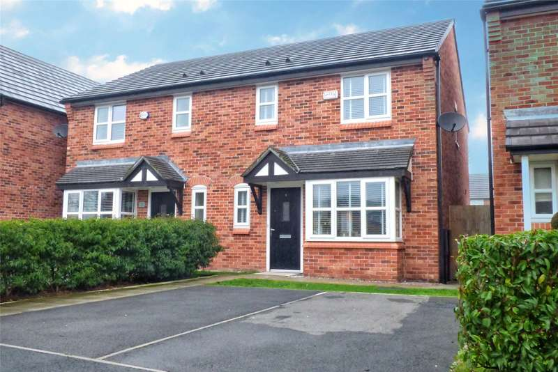 3 Bedrooms Semi Detached House for sale in Innes Close, Rochdale, Greater Manchester, OL12