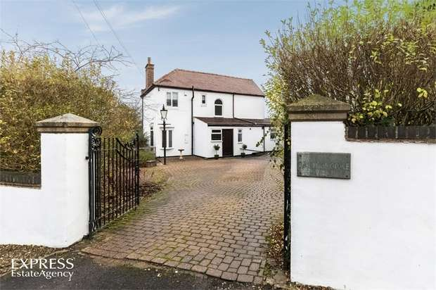4 Bedrooms Detached House for sale in Middridge Road, Rushyford, Ferryhill, Durham