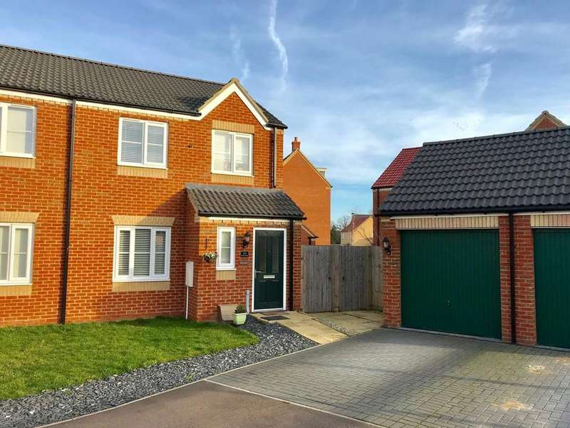 3 Bedrooms Semi Detached House for sale in Bath Close, Bourne, PE10