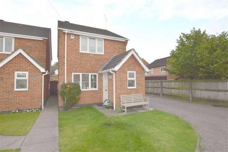 3 Bedrooms Detached House for sale in Turville Close, Burbage, Leicestershire