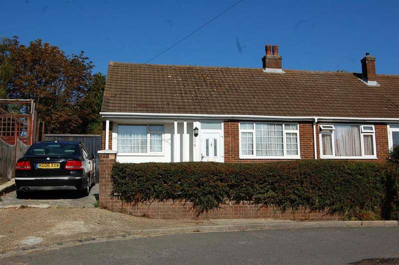 2 Bedrooms Semi Detached Bungalow for sale in Ashcroft Road, Luton