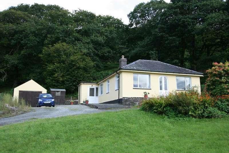 2 Bedrooms Detached Bungalow for sale in Dolgoch, Bryndrug, Gwynedd LL36