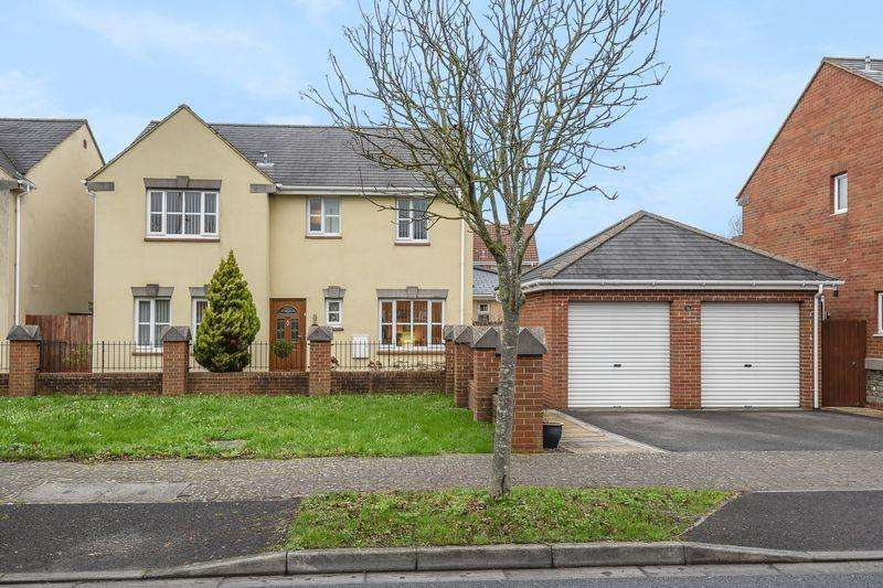 4 Bedrooms Detached House for sale in Old Mill Way, Weston-Super-Mare