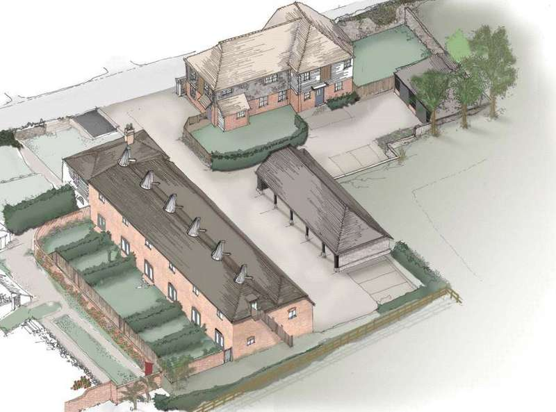 Barn Conversion Character Property for sale in Chart Hill Road, Chart Sutton, Maidstone, Kent