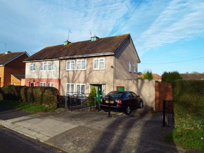 3 Bedrooms Semi Detached House for sale in 43 Broadlands Drive, Lawrence Weston, Bristol, Bristol