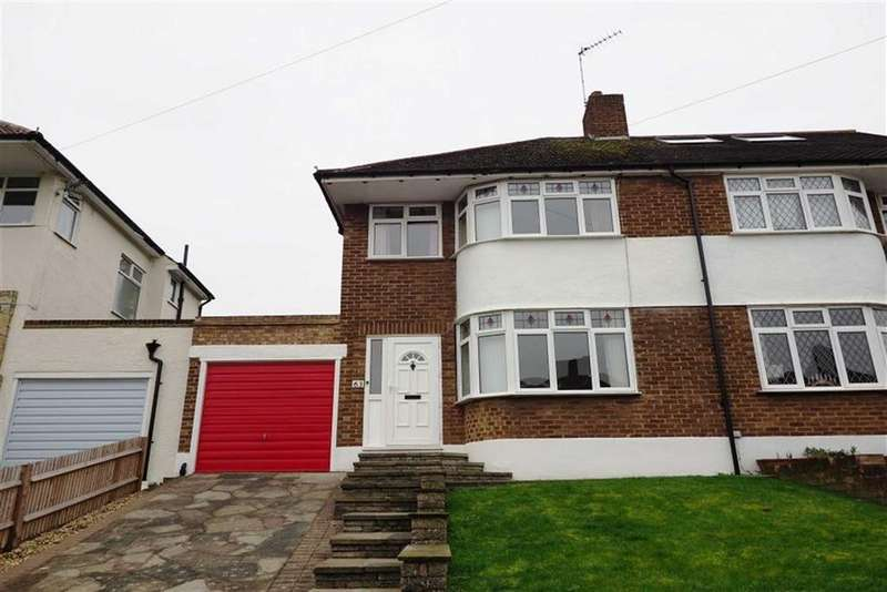 3 Bedrooms Semi Detached House for sale in Brownspring Drive, Eltham, London, SE9