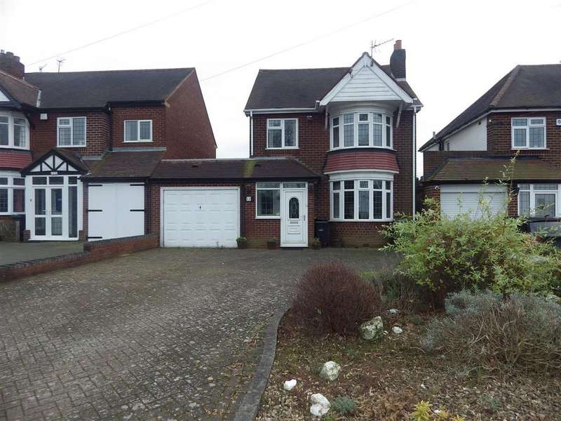 3 Bedrooms Detached House for sale in Manor Lane, Halesowen