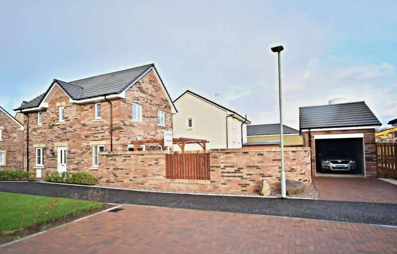 3 Bedrooms Detached House for sale in Foster Crescent , Troon , South Ayrshire , KA10 7FD