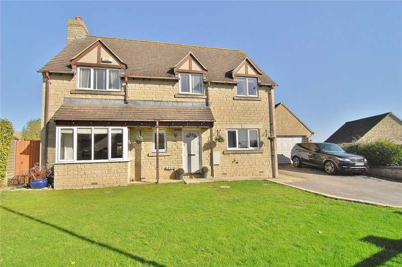 4 Bedrooms Detached House for sale in Stonecote Ridge, Bussage, Stroud, Gloucestershire, GL6