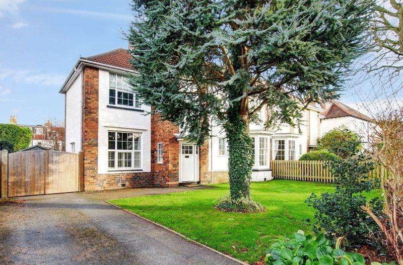 4 Bedrooms Semi Detached House for sale in Cardigan Road, Henleaze