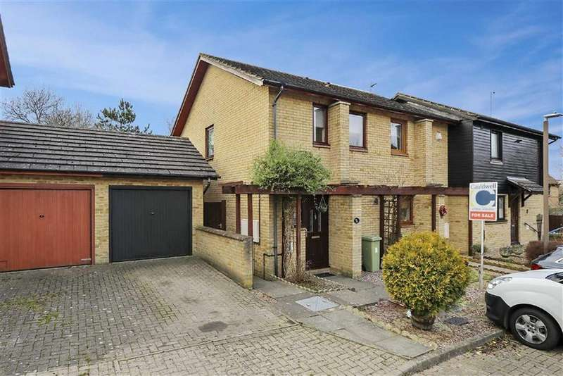 2 Bedrooms Semi Detached House for sale in Hambleton Grove, Emerson Valley, Milton Keynes, Bucks