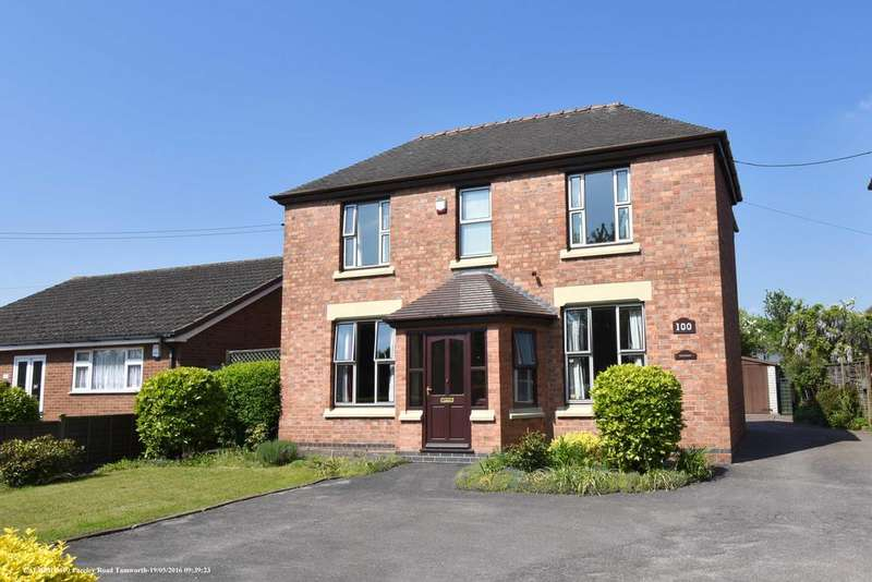 4 Bedrooms Detached House for sale in Fazeley Road, Tamworth B78 3LL