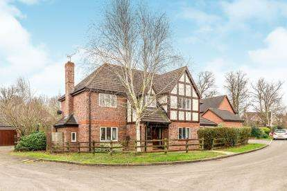 5 Bedrooms Detached House for sale in Moss Grove, Kenilworth, Warwickshire, .