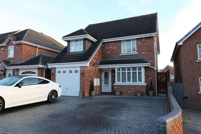 4 Bedrooms Detached House for sale in William Coltman Way, Tunstall