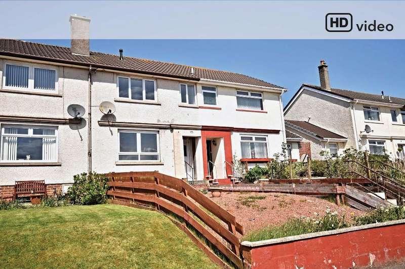 2 Bedrooms Terraced House for sale in Hannahston Avenue, Drongan, Ayrshire, KA6 7AX