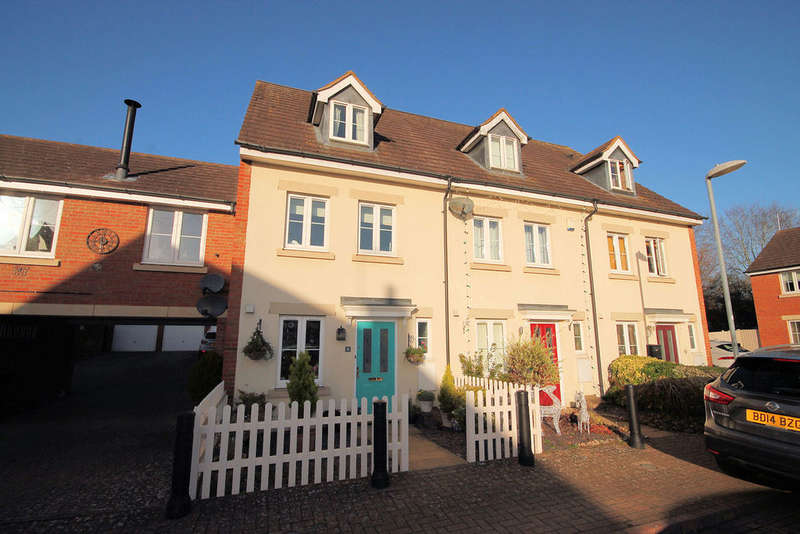 3 Bedrooms Terraced House for sale in Wood End Close, Sharnbrook, MK44