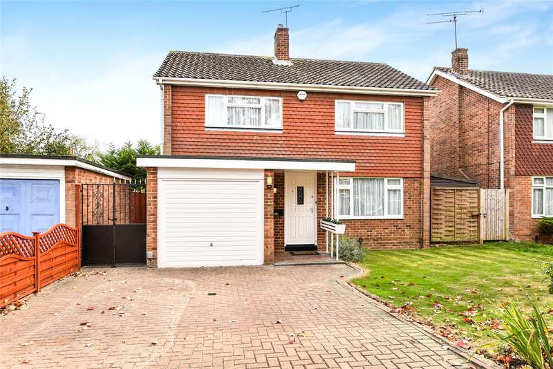 4 Bedrooms Detached House for sale in Webster Close, Maidenhead, Berkshire, SL6