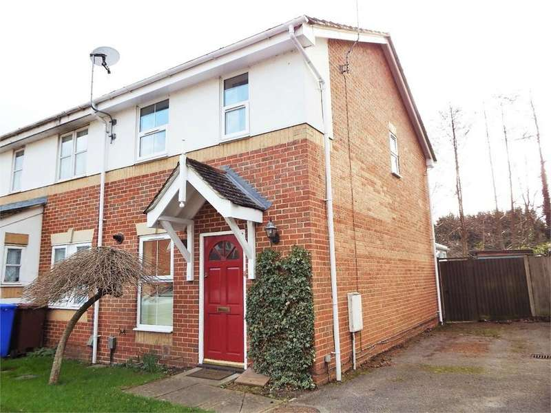 2 Bedrooms Semi Detached House for sale in Tarn Close, FARNBOROUGH, Hampshire
