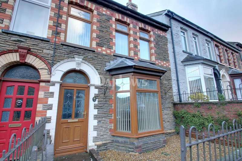 3 Bedrooms Terraced House for sale in Wainfelin Avenue, Pontypool