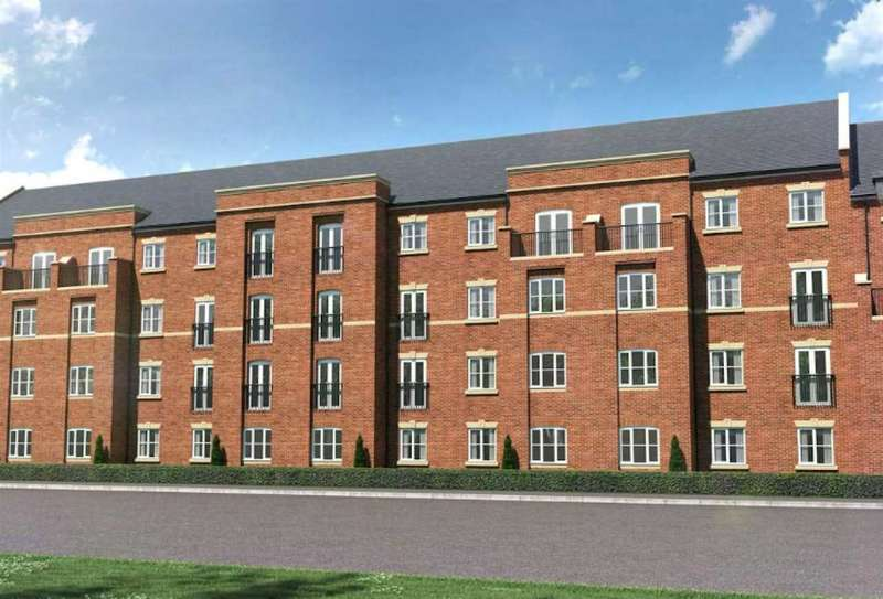 2 Bedrooms Apartment Flat for sale in Plot 453 Apartment C1, Edgewater Park, Thelwall Lane, Latchford, Warrington