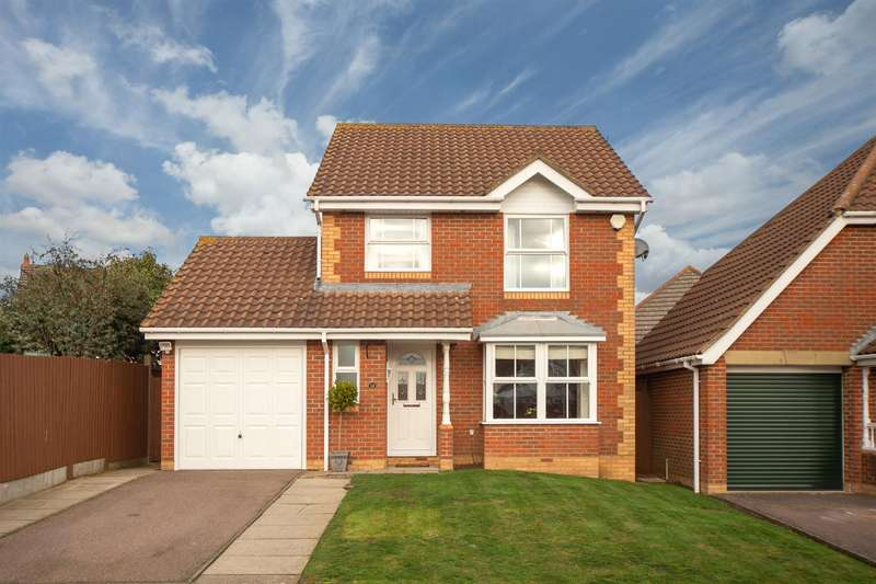 3 Bedrooms Detached House for sale in Gatehill Gardens, Luton
