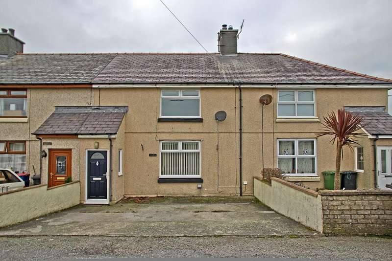 3 Bedrooms Terraced House for sale in Lon Coedana, Llanerchymedd, North Wales