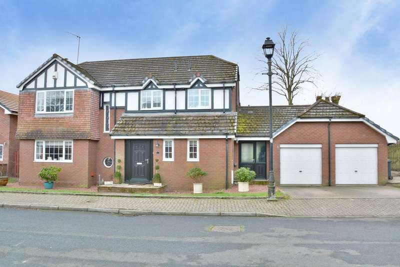 4 Bedrooms Detached House for sale in 9 Craigbet Avenue, Quarriers Village, PA11 3QX