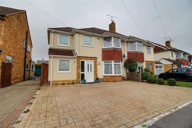 4 Bedrooms Semi Detached House for sale in Haddon Drive, Woodley, Reading, Berkshire, RG5
